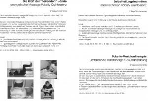 Kurs-Programm 2012