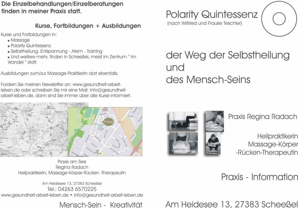 Praxis Regina Radach: Information über Inhalte und Arbeitsweise
