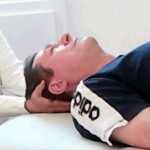 Kopf Griff energetische Polarity Massage
