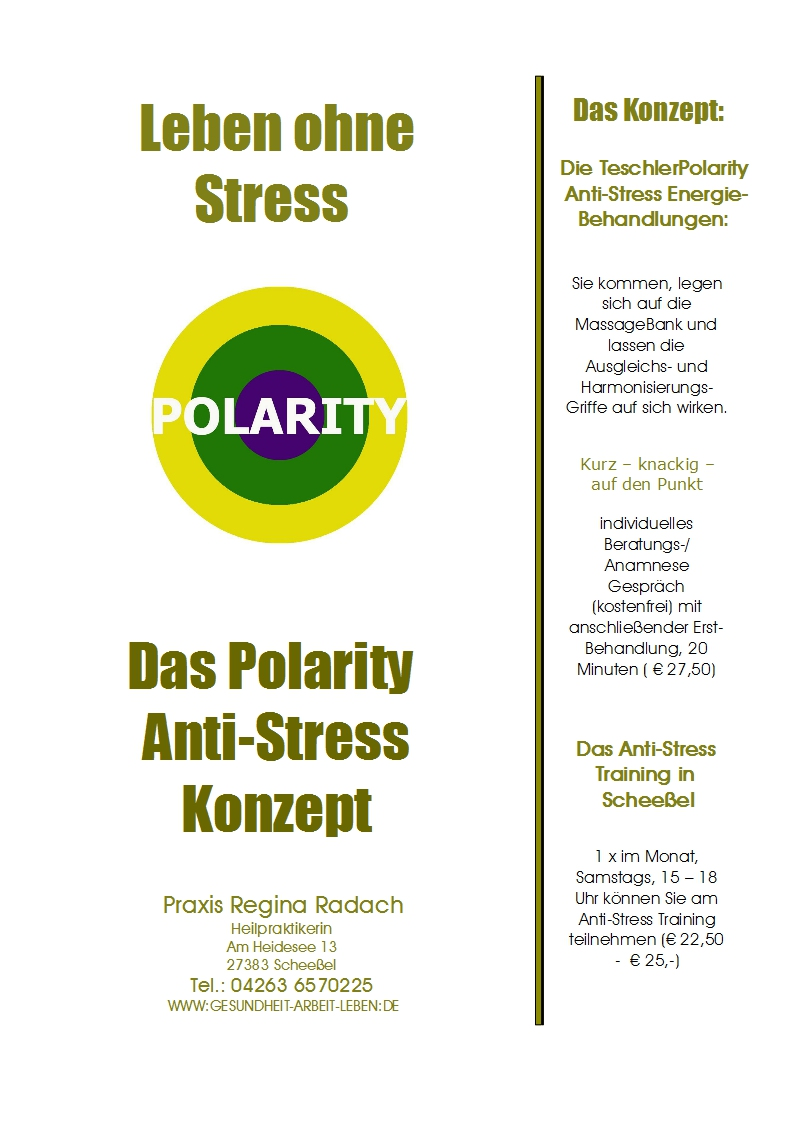 Polarity Anti-Stress Konzept