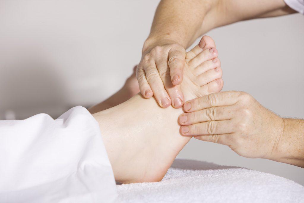 Fuß- Reflex-Massage